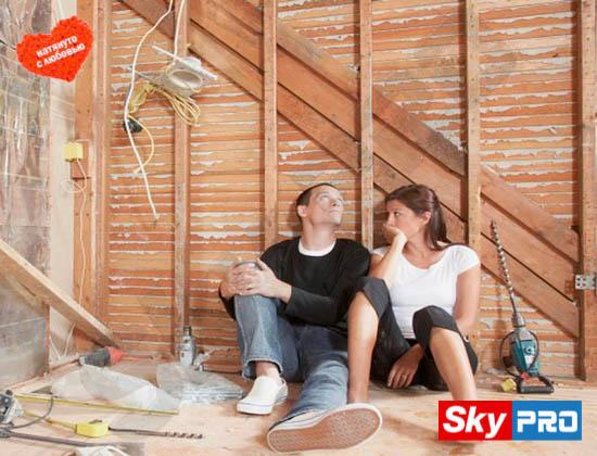 Как подготовить помещение к установке двухуровневого натяжного потолка