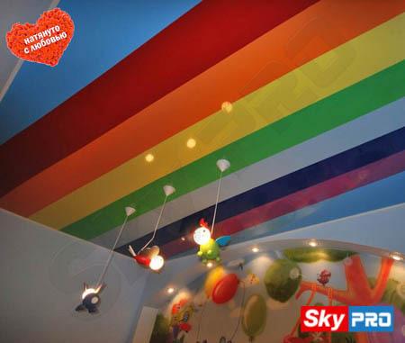 Разнообразие цветов натяжных потолков из ПВХ