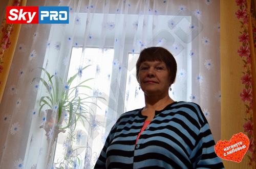 Татьяна - счастливый обладатель натяжных потолков СкайПРО