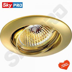 Точечный светильник Novotech Crown Золотой